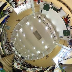 2016年11月6日 大学自慢コンテス桜美林大学の発表風景