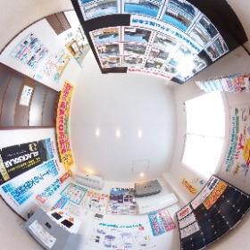 MADOショップ豊川南大通店 1階太陽光発電・蓄電池展示スペースです。