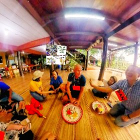 360 spherical image Oct 2018 Farm trip Pathum Tanni, Process food Boran (ancient) style, activities https://goo.gl/4jEc2c BEST HASHTAGS #FoodBoranStyle  #FarmTourPhatumTanni    #TravelMeetLocalsBkkAdventureOctober018  #butterfly3d #theta360