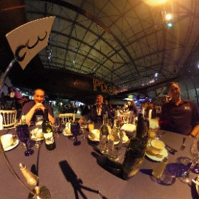 Nice dinner @RAFMUSEUM at the @mvpaward UK community connection #MVPBuzz #MIEExpert #theta360