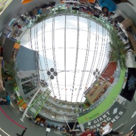 Giant Pantograph at British Science Festival Fringe, University of Bradford, 13 Sept 2015 #theta360