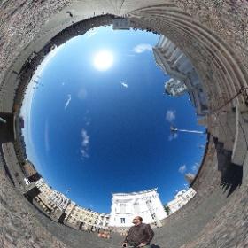 Pitihän tätä 360-kuvaa heti testata, kun tuki Faseen tuli. #theta360