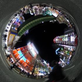 Xperia feat.HATSUNE MIKU VOICES tilt-six Remix PVのあるシーンを再現してみました。(位置関係は見やすくするため少しいじってあります。) #miku360 #miku360off #theta360