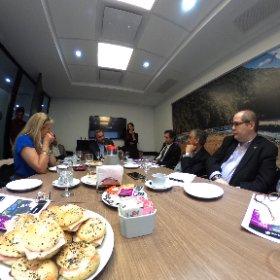 Evento Air New Zealand en las oficinas de la empresa en Buenos Aires #eventosATB #theta360