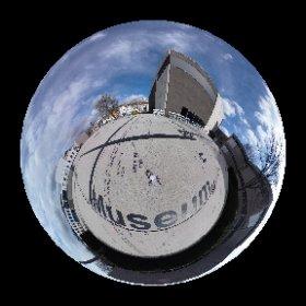 Erweiterungsbau der Modernen Galerie  #theta360 #theta360de