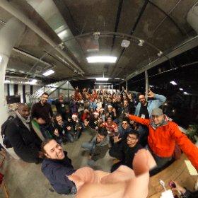 .@HacksterIO #hacktheplanet #nyc #muchlove @AWSStartups @IntelIoT #theta360