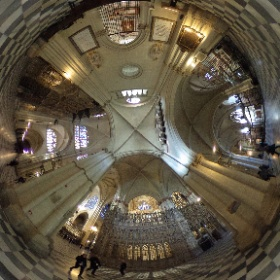 Toledo cathedral, south ambulatory #theta360