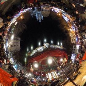 Carousel at Christmas Market  #firefly3d  #theta360