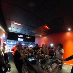 #chocolate fun with @astorchocolate and @atlfbs at @atlhawks game @philipsarena #theta360