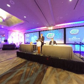 360 degrees of Florida Coach Jim McElwain speaking at SEC Media Day. #secmd16 @gatorsfb