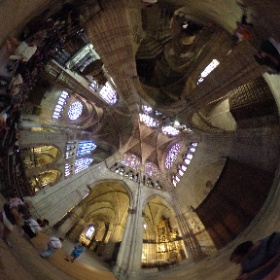 León Cathedral, South transept #theta360