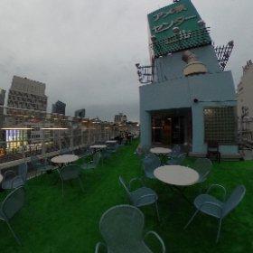 上野アメ横屋上ビアガーデン #ビアガーデン #theta360