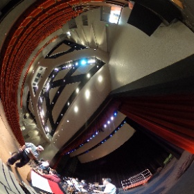 Sound check with The 45th Parallel #theta360