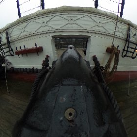 Danish frigate Jylland, main deck #theta360