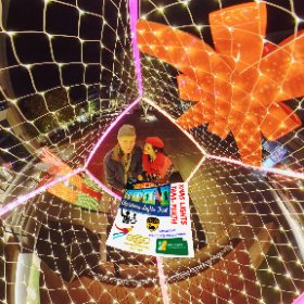 Giftmas  360 image 2019 Xmas Light Trails in Perth CBD FREE every night till December - virtual tour + official map, video, program in https://lnkd.in/gX_aiXu #XmasLightTrailsPerth   #ChristmasLightTrailsPerth   #Firefire3d #theta360