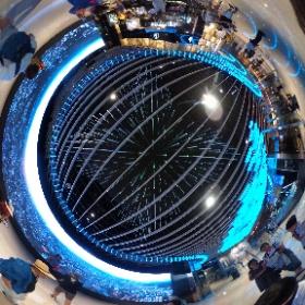 #まるちゃん台湾旅行 #台北101 大きいパノラマ画面 #theta360