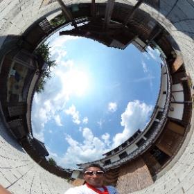 土山宿 東海道伝馬館 撮影現場 #theta360