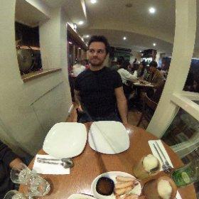 Thai food time - Endless food day #theta360 #theta360it