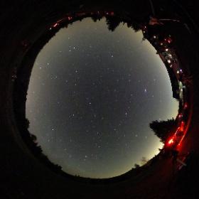Camp d'astronomie du Club des Astronomes Amateurs de Laval - 28 avril 2017 à Tremblant.  (23h15)