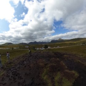 Nice pull off spot in the Highlands of Scotland. #theta360