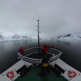 Aboard the Ushuaia Ship in Antarctica! #Antarctica #Antarctic #Ushuaia #Ship #Selfie #theta360