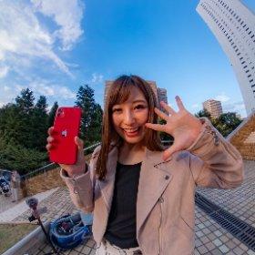 小彩楓さんとiPhone11レビュー #theta360