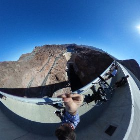 The 360 view at the Hoover Dam for the 1pm hour of @MSNBC anchored by @HallieJackson