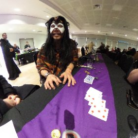 @JonMaddgician at Jason & Alice's medieval wedding blowing the minds of @KudraKarma, Keilo, Scott & I. #theta360
