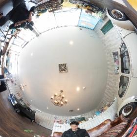 キュート&クラシック自動車の専門店、K'sMART様の撮影風景 #theta360