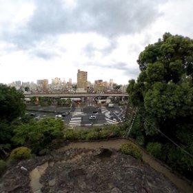 品川富士登頂記念シータ。 #theta360