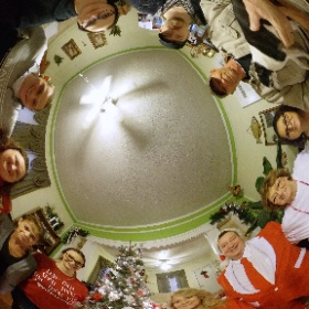 #Christmas in #Illinois. Aunt Patty and my Mom with a few of their kids and grandkids. #MerryChristmas #theta360