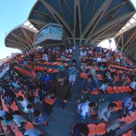 駒沢オリンピック公園総合運動場陸上競技場 #theta360