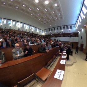 Aula magna Físicas UCM a reventar #theta360