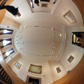 The Phillips Collection, Washington, DC.  One interesting thing about spherical panoramics is that folks usually have no idea that you are shooting EVERYTHING. #theta360