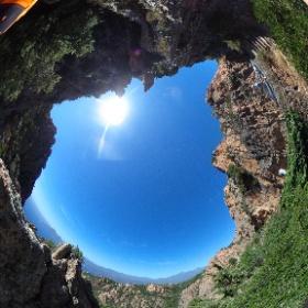 Fotomomentje Calanche Cliffs - Corsica #theta360