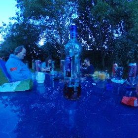 DEICHBRAND Campingteam treffen gemütliche Wochenende #theta360 #theta360de