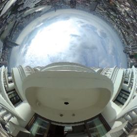 ルブア アット ステート タワー (lebua at State Tower) バルコニーからの眺め01 #ルブア アット ステート タワー  #lebua at State Tower #bangkok #thailand #バンコク #タイ  #theta360