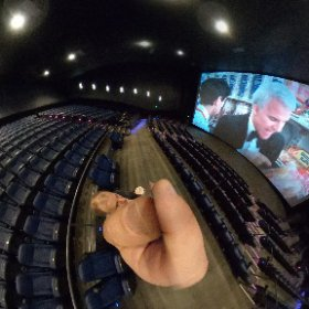 at Megaplex Theaters West Valley Utah before the movie starts. #theta360