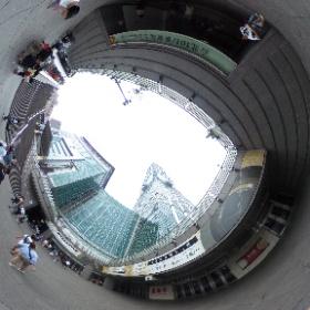#まるちゃん台湾旅行 #台北101 を真下から撮影 #theta360