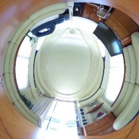 中古艇ドットコム アジム42 室内写真 #theta360