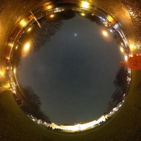 #snow3d am Schloss Bellevue (Test) in echt regnet es nur #theta360 #theta360de
