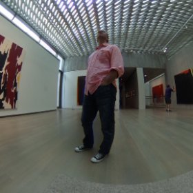Clifford Still Museum, Denver, CO - July 2016 #theta360
