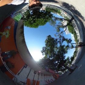 #リオオリンピック #開会式前 の #マラカナンスタジアム 直前準備 #theta360