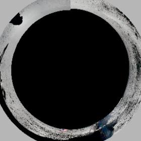 人類が初めて月に降り立ったアポロ11号のパノラマ写真。
