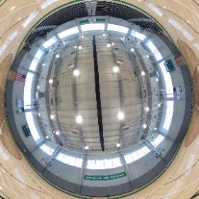 The new gym at Nardin Academy in Buffalo, NY.  Enjoy the 360 degree view! #theta360