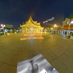 Maha Chetsadabodin Royal Pavilion is a landmark photo spot surrounding with Photo icons in the historical tour zone of Rattanakosin Island Bangkok SM hub https://goo.gl/FYh6QK BEST HASHTAGS #MahaChetsadabodin #BkkAdventure  #butterfly3d