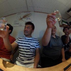 日本酒の日! 乾杯! #kanpai-sake #全国一斉日本酒で乾杯 #theta360