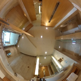 Hotel bathroom at The Meydan Hotel Dubai in 360° #visitDubai #theta360