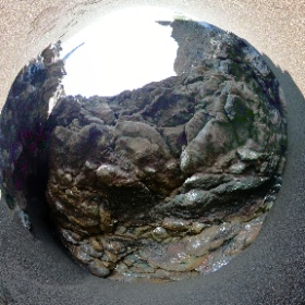 Pillow basalt at Black Sands Beach, Marin Headlands, CA