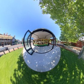 Ferry Tram Museum on Windsor Park South Perth along the path to Perth Zoo https://tourismwinnerwa.com/FerryTramMuseum BEST HASHTAGS  #FrerryTramMuseum  #SouthPerth   #VisitPerthWA   #PerthAdventure   #WaTourism #WaAchiever #theta360